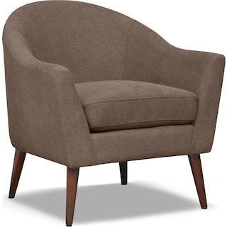 Rosa Accent Chair - Mocha