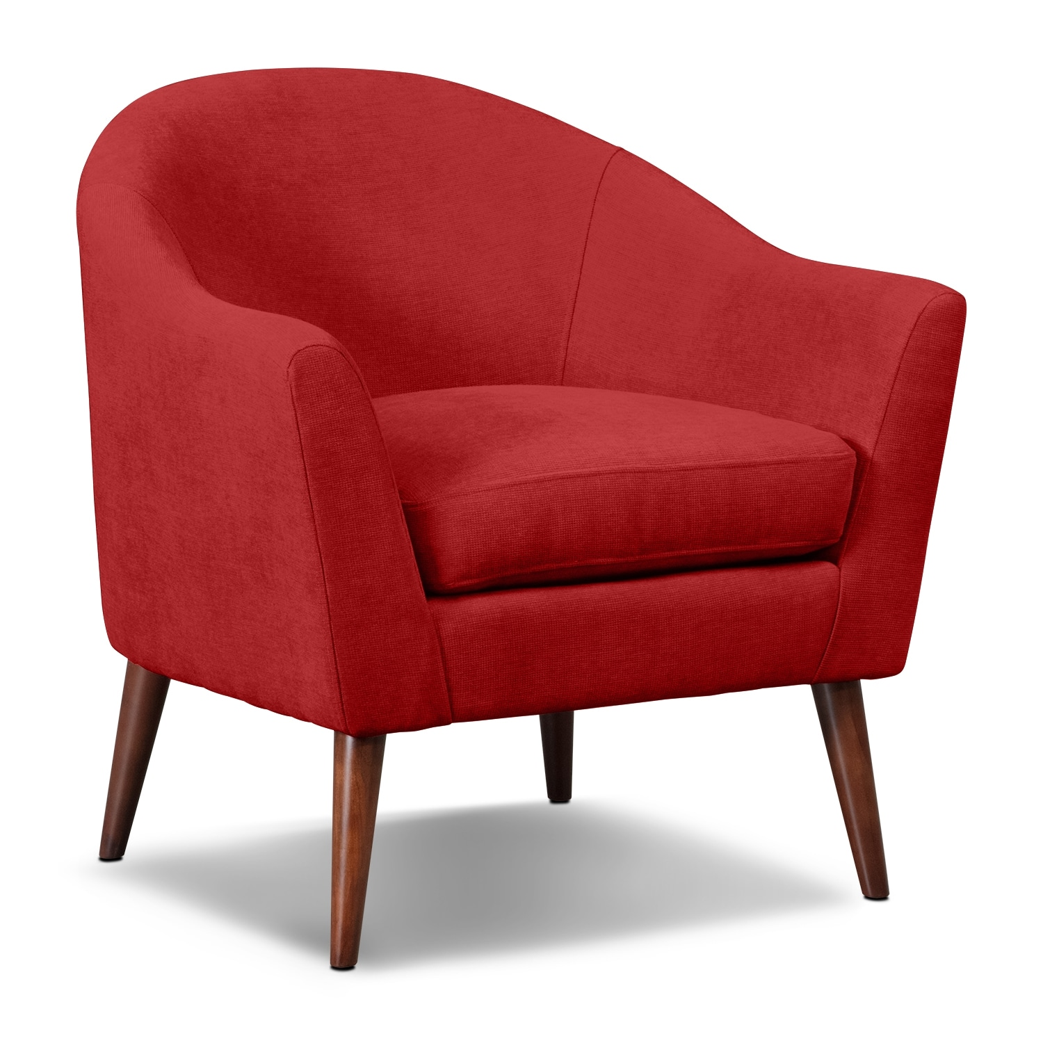 Rosa Accent Chair Red