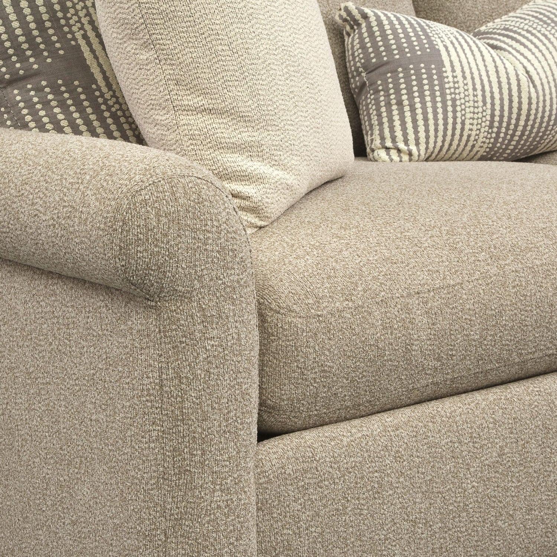 Robertson Comfort Sofa Beige Value City Furniture And