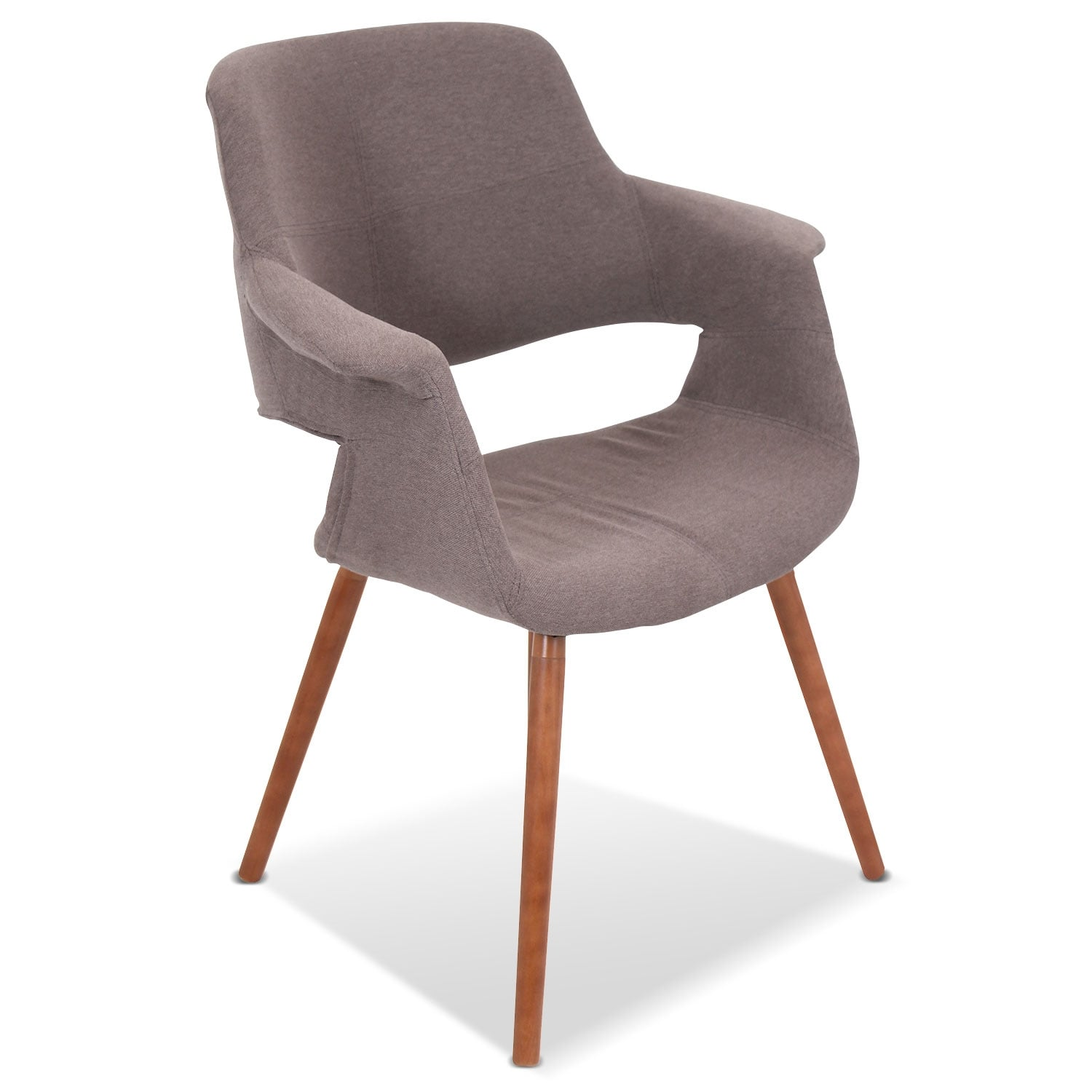 Accent and Occasional Furniture - Solo Accent Chair - Brown