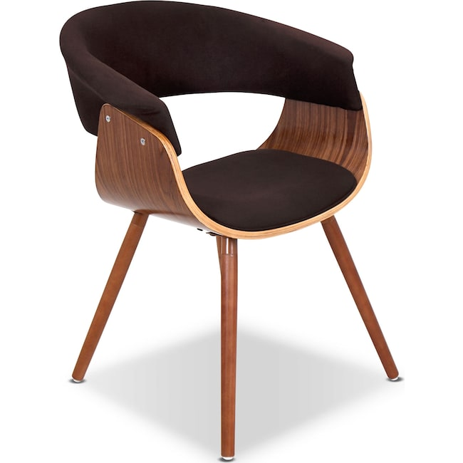 Living Room Furniture - Beacon Accent Chair - Espresso
