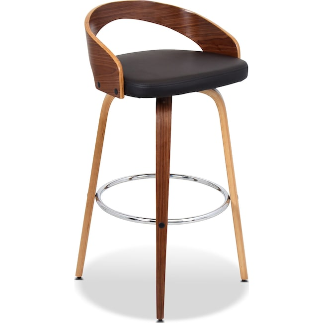 Accent and Occasional Furniture - Cocina Barstool - Walnut