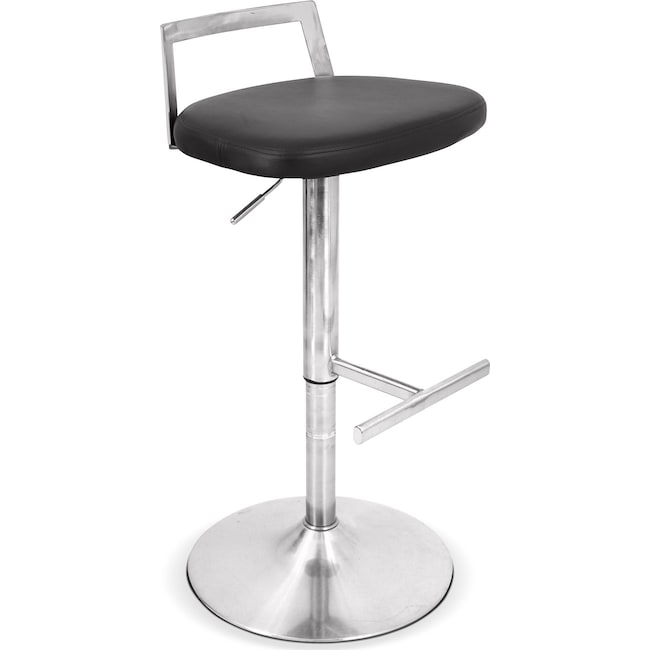 Accent and Occasional Furniture - Volt Barstool - Black