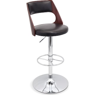 Palermo Adjustable Barstool - Brown