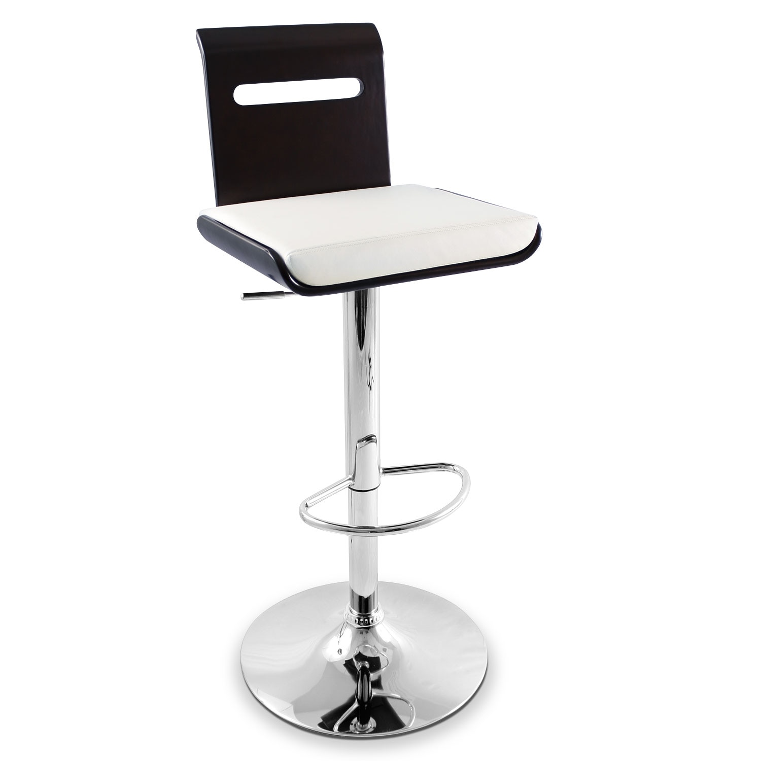 Accent And Occasional Furniture   Domato Adjustable Barstool   White