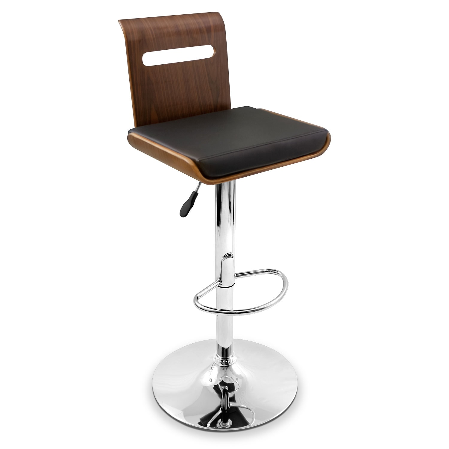 Accent and Occasional Furniture - Domato Adjustable Barstool - Black