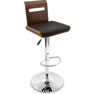 Domato Adjustable Barstool - Black