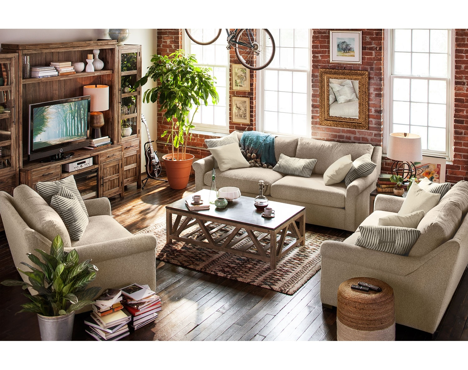 The Robertson Comfort Living Room Collection