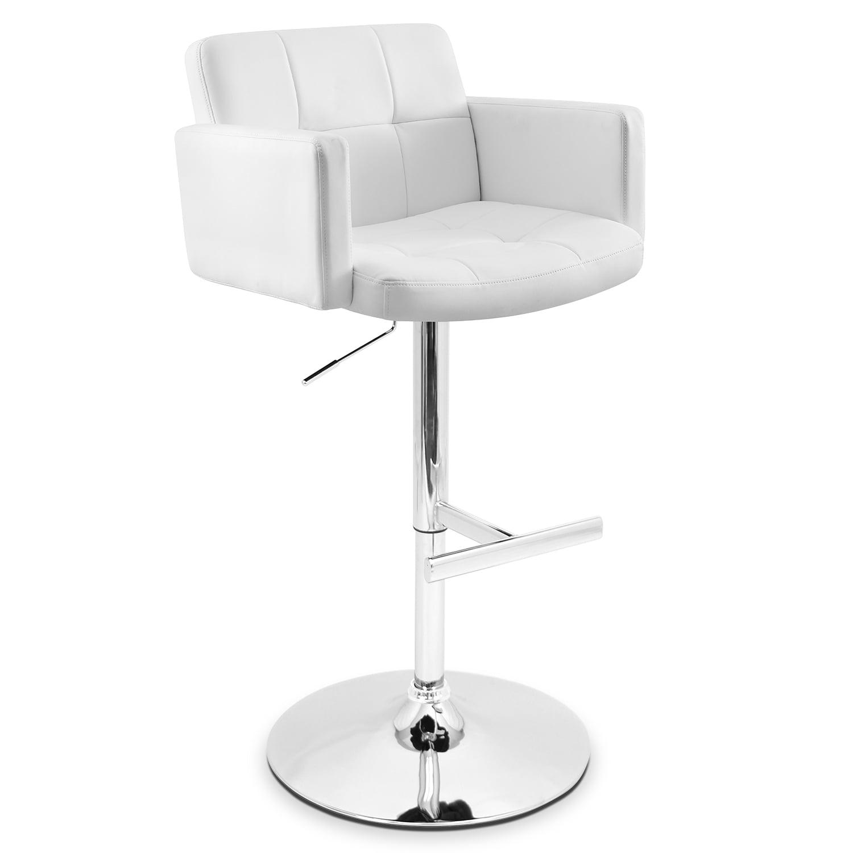 Porter Adjustable Barstool - White