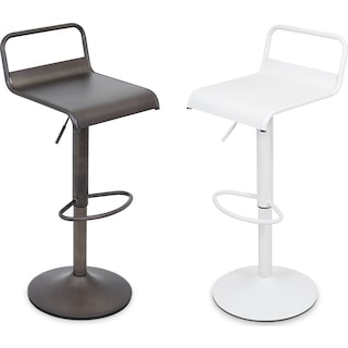 The Duran Adjustable Barstool Collection