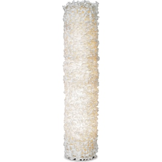 Lace Tower Floor Lamp
