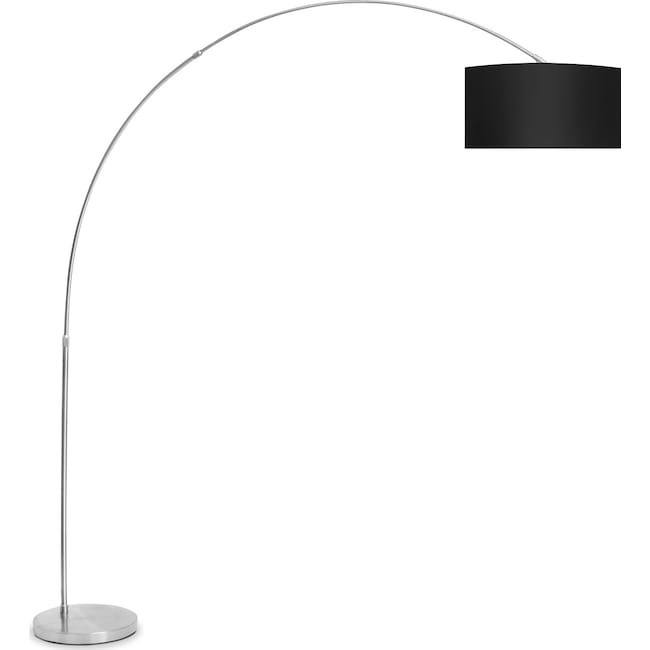 Accent and Occasional Furniture - Salon Floor Lamp - Black