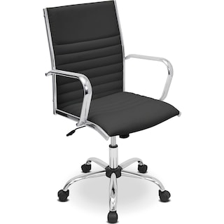 Director Office Arm Chair - Black