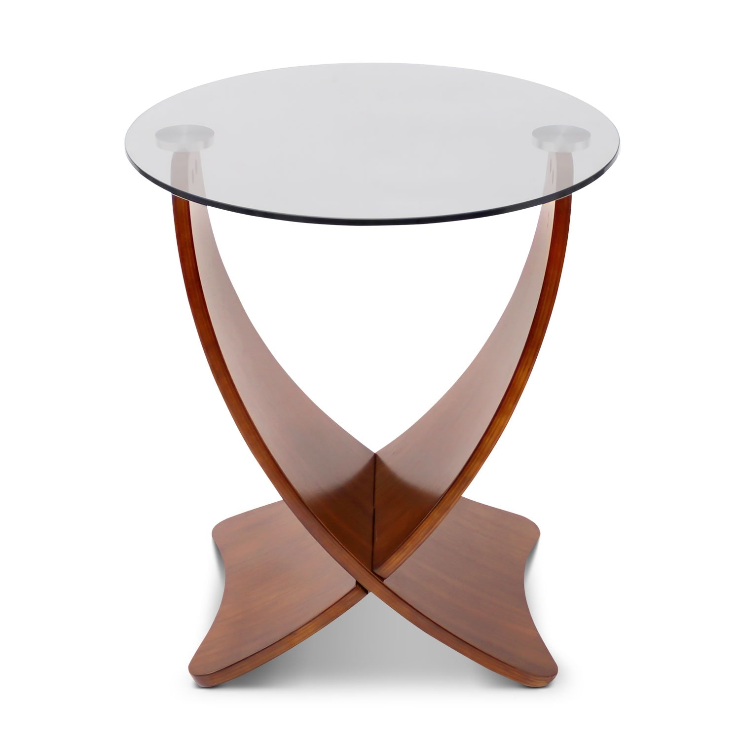 Convex End Table
