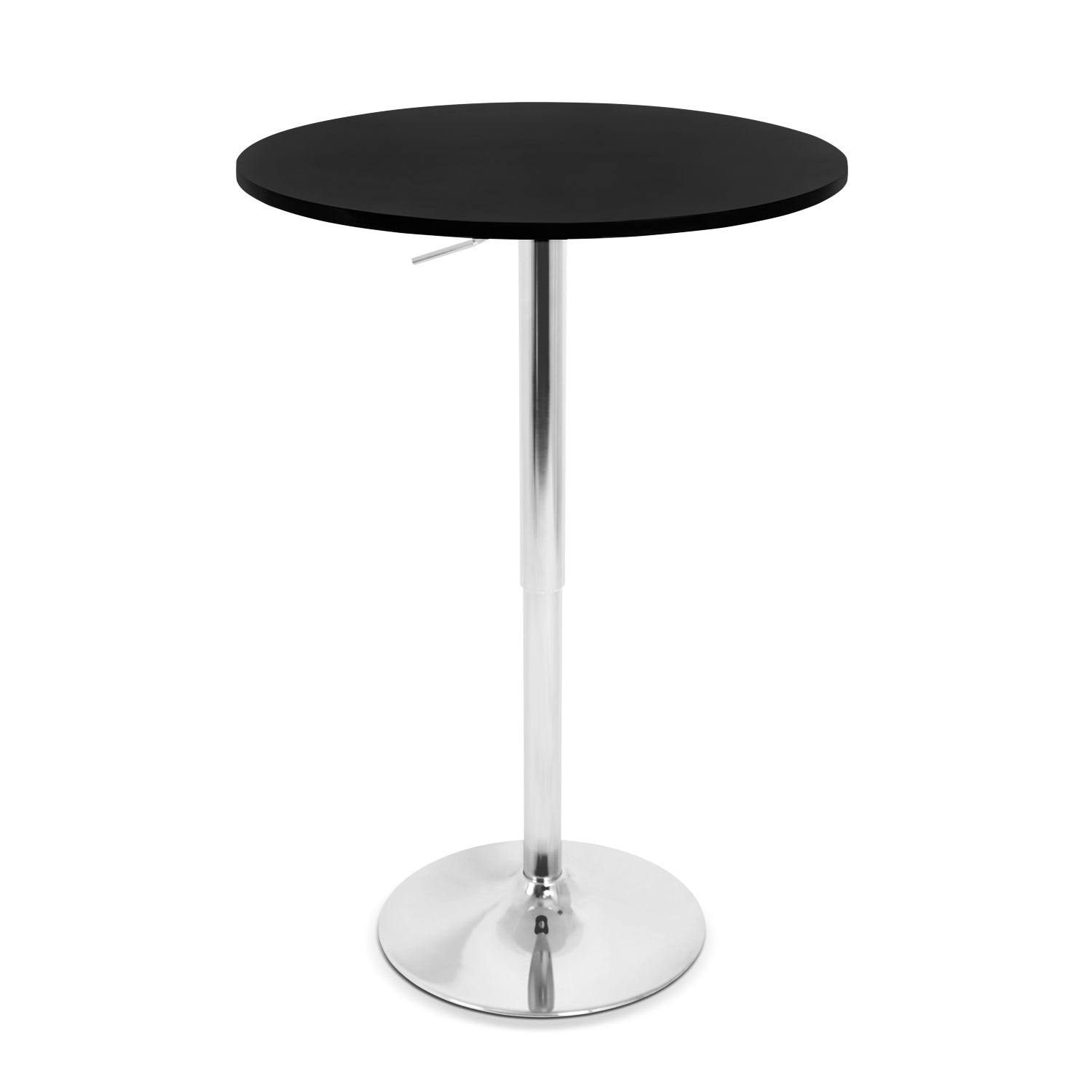 Accent and Occasional Furniture - Frankie Adjustable Bar Table - Black