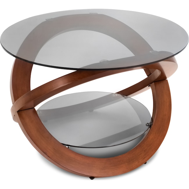 Accent and Occasional Furniture - Aiden Coffee Table - Walnut