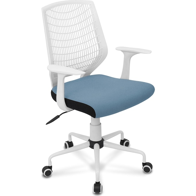 Home Office Furniture - Helix Office Chair - Blue