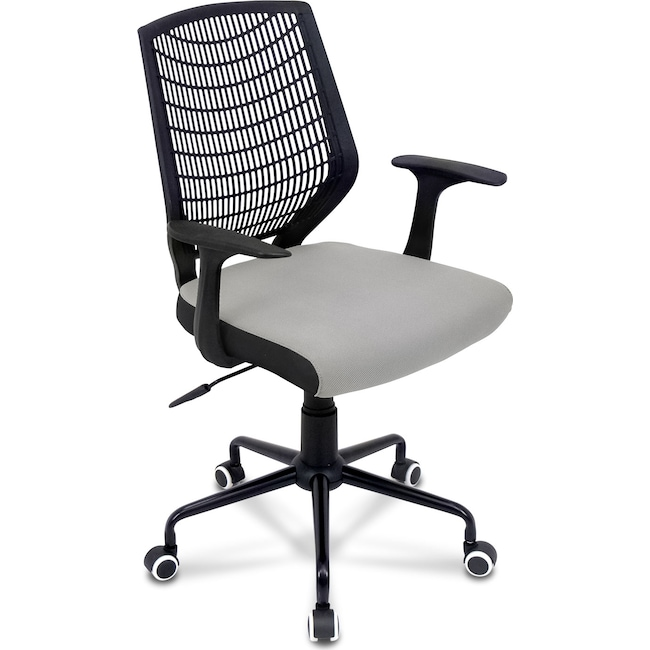 Home Office Furniture - Helix Office Chair - Gray