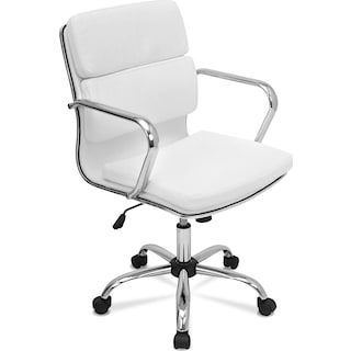 Oscar Office Chair - White