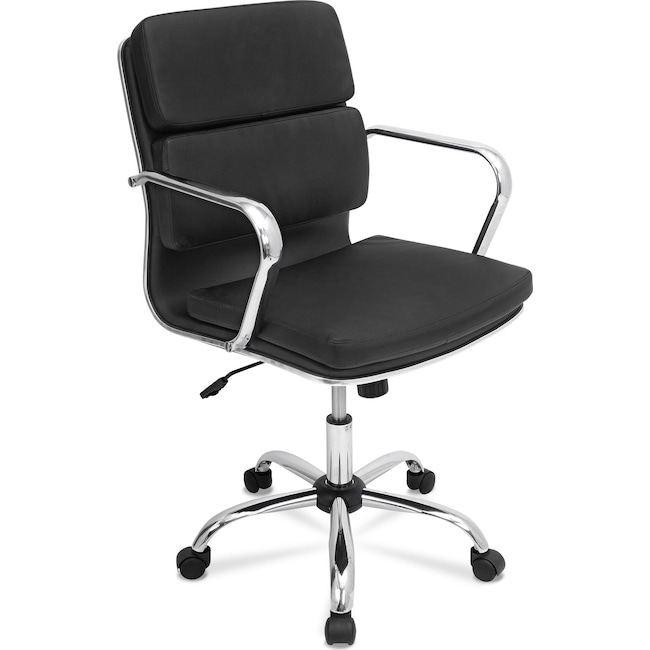 Home Office Furniture - Oscar Office Chair - Black