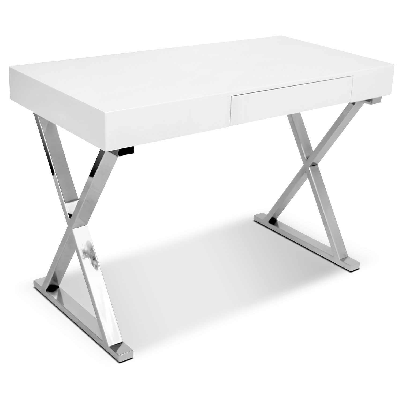 Sapphire Desk - White
