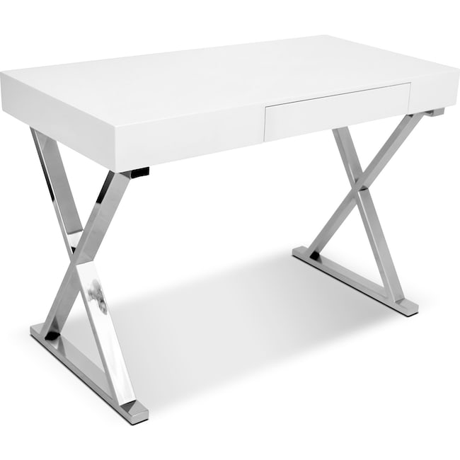 Home Office Furniture - Sapphire Desk - White