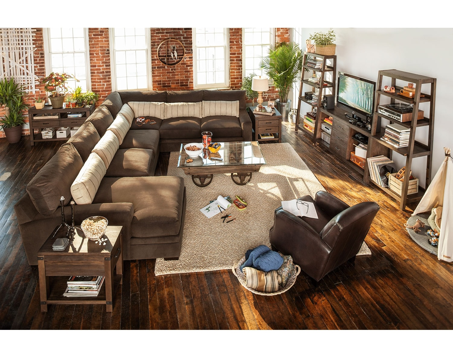 The Ventura Teak Sectional Collection