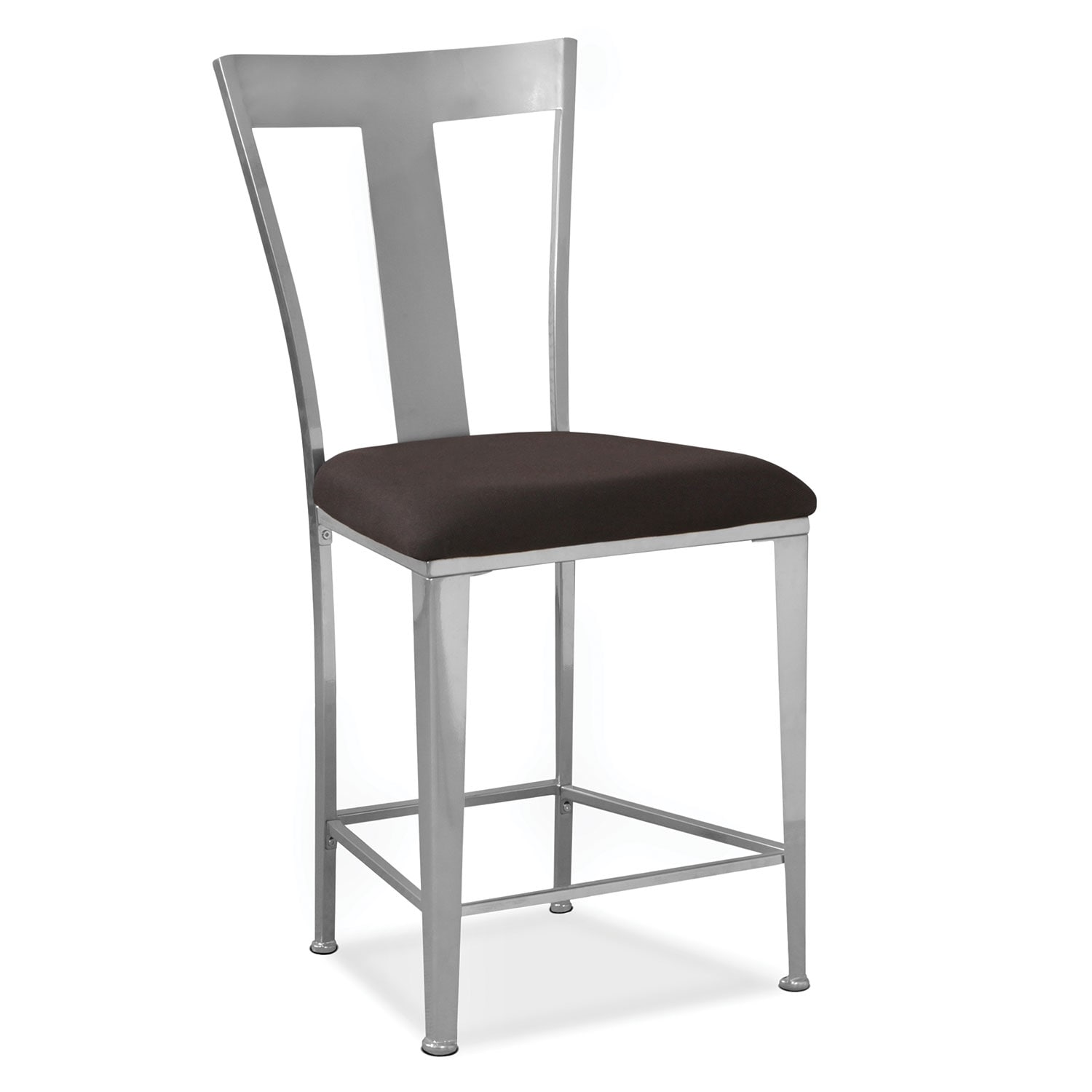 Silverton Counter-Height Stool - Silver