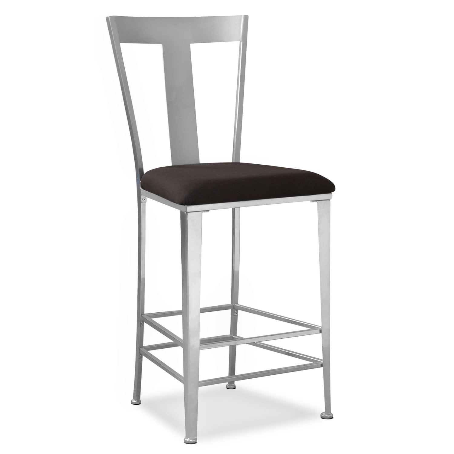 Accent and Occasional Furniture - Silverton Barstool - Silver