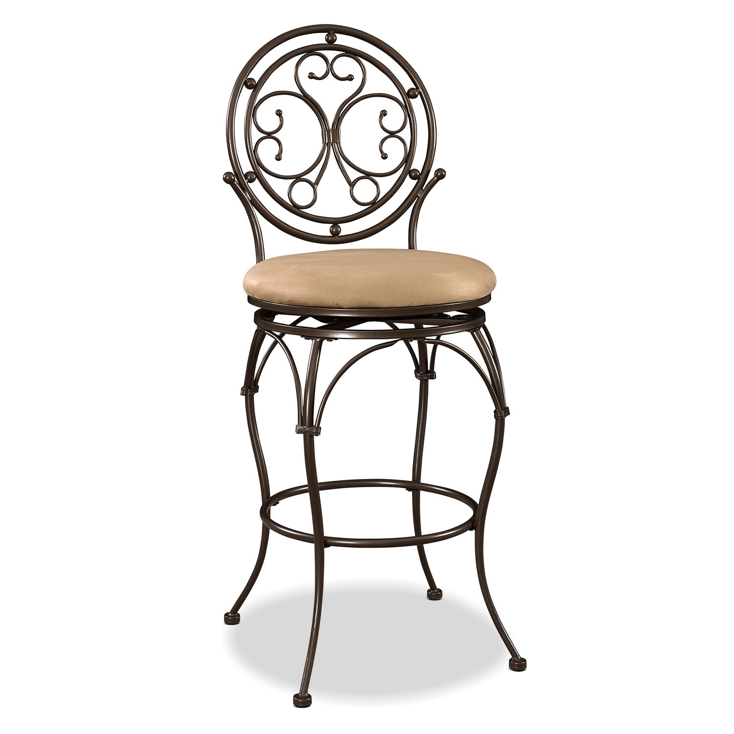 Accent and Occasional Furniture - Laurel Barstool - Bronze