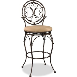 Laurel Barstool - Bronze