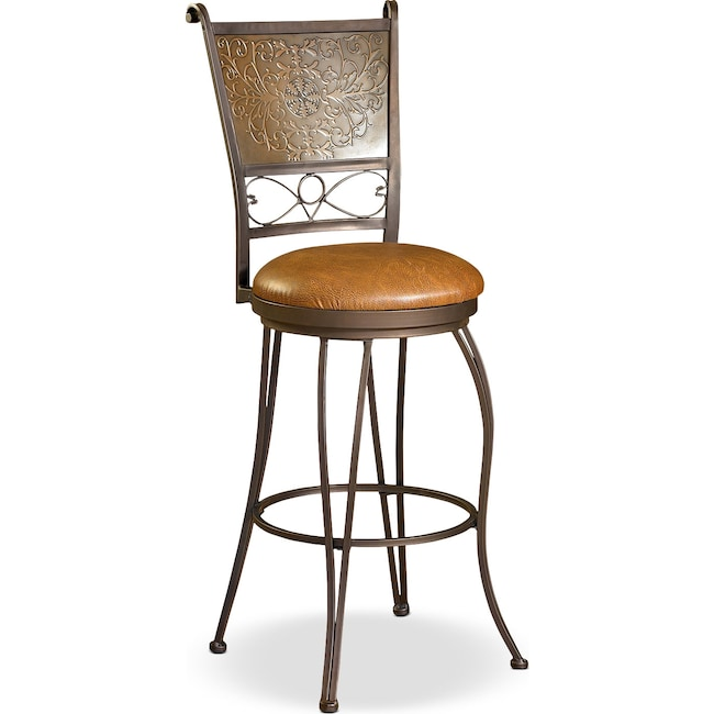 Dining Room Furniture - Darby Barstool - Brown