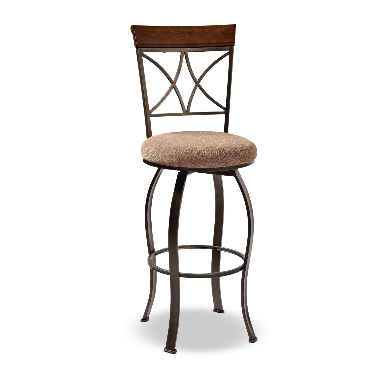 Rosedale Barstool - Medium Cherry