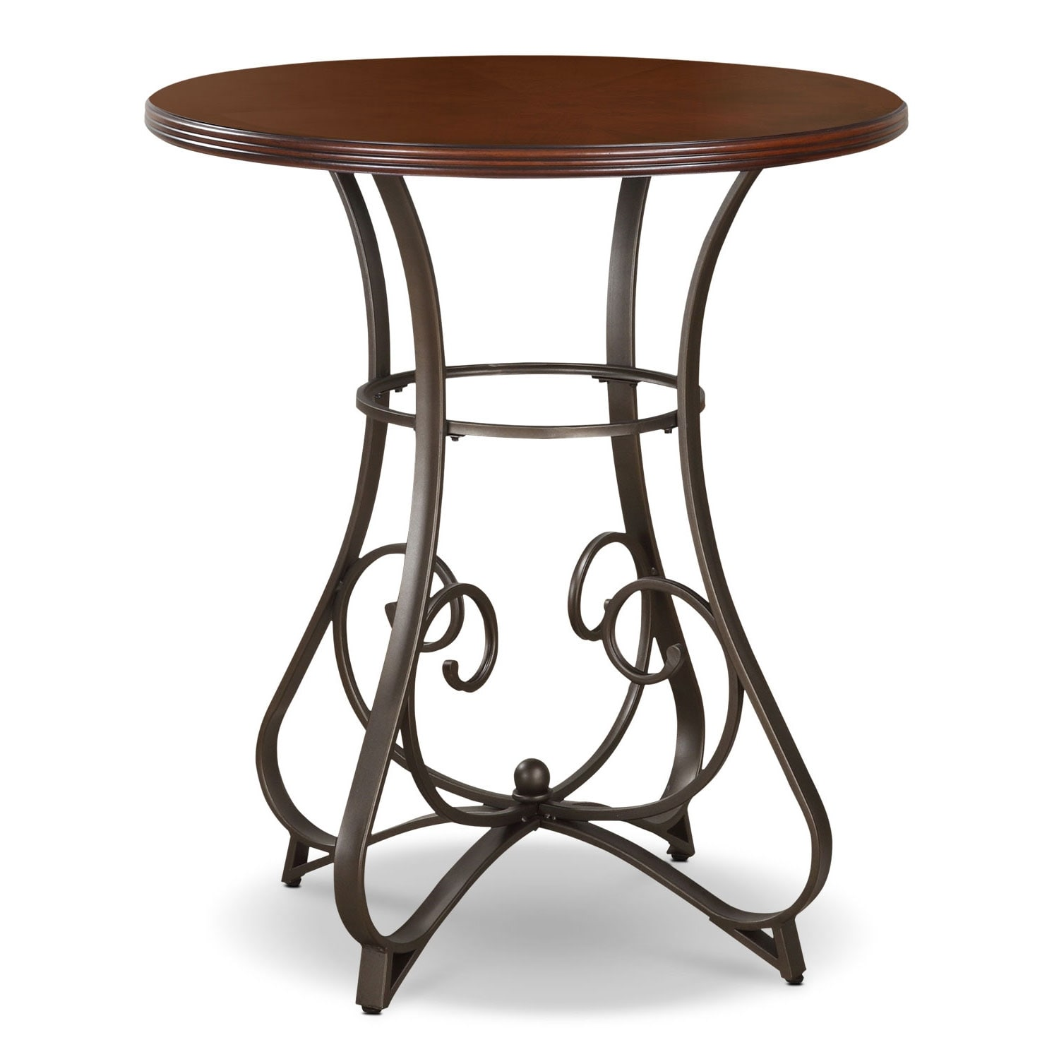 Accent and Occasional Furniture - Rosedale Pub Table