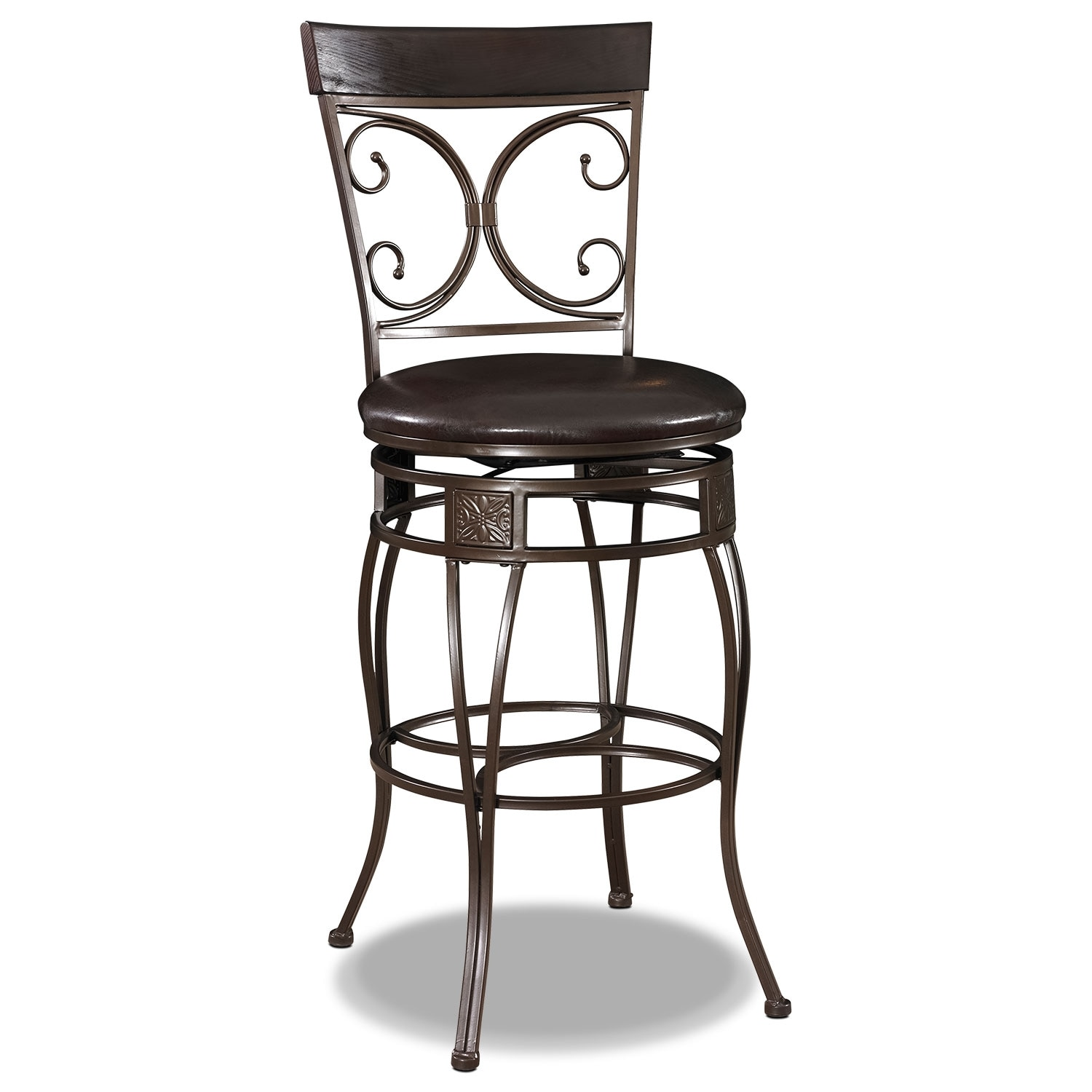 Accent and Occasional Furniture - Grandview Bar Stool - Black