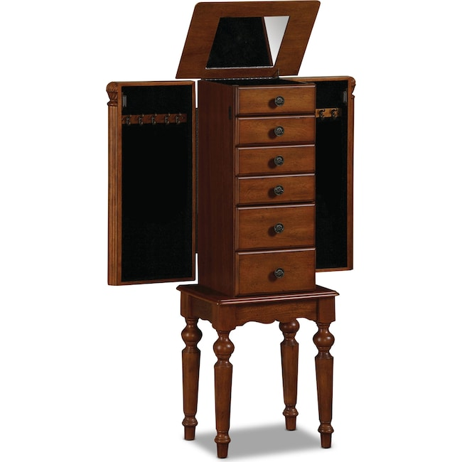 Accent and Occasional Furniture - Milton Jewelry Armoire