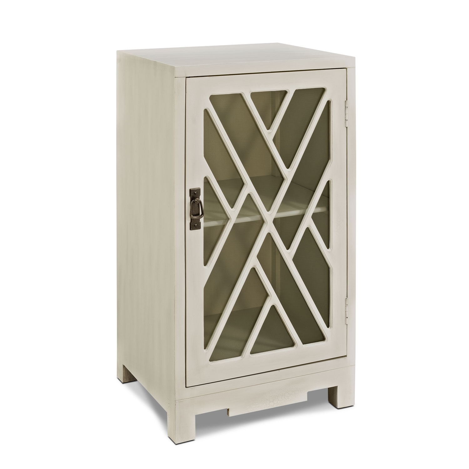 Accent and Occasional Furniture - Tia Side Table - White