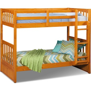 Ranger Twin over Twin Bunk Bed - Pine