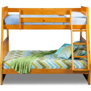 Ranger Twin over Full Bunk Bed - Pine