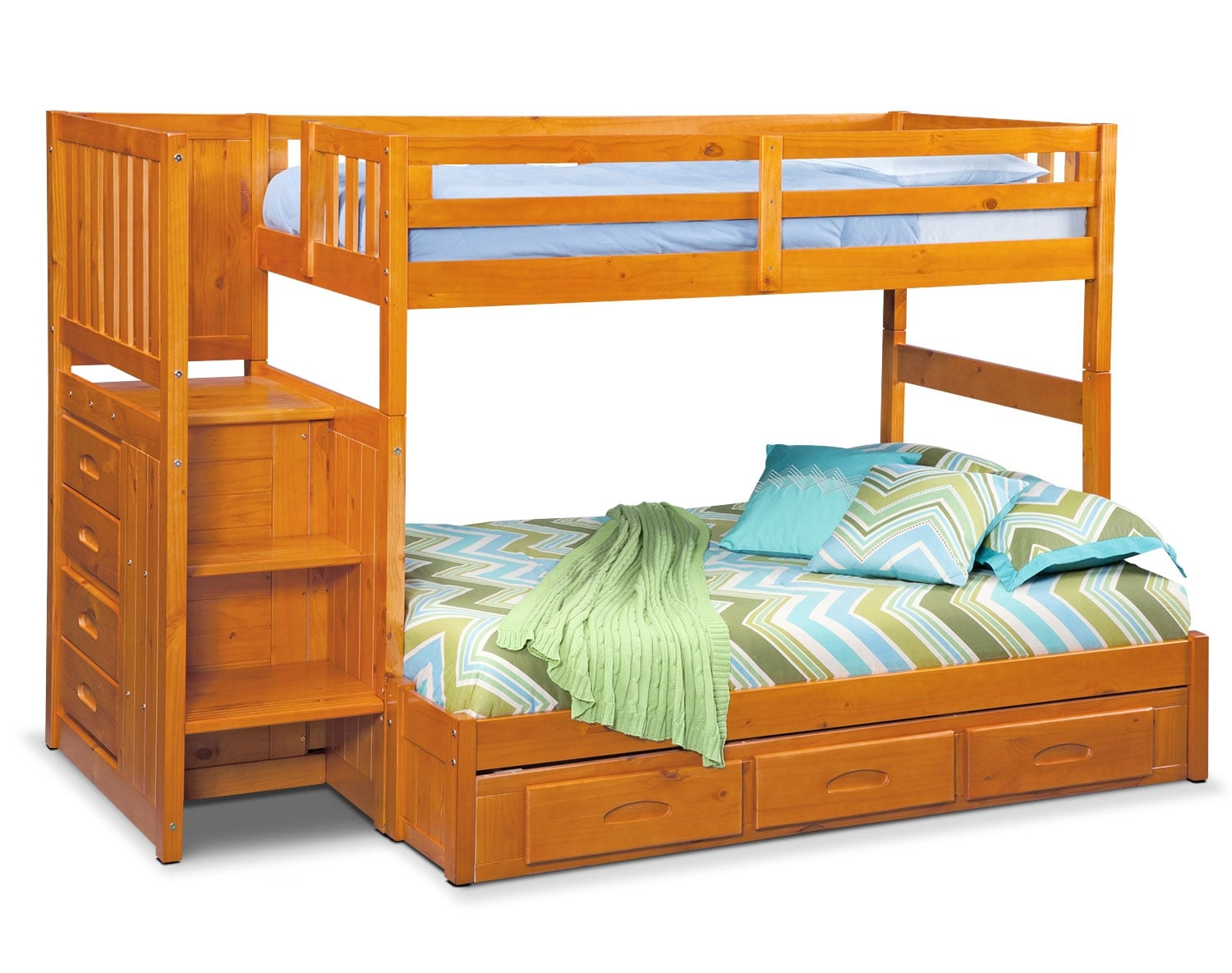 [The Ranger Pine Bunk Bed Collection]