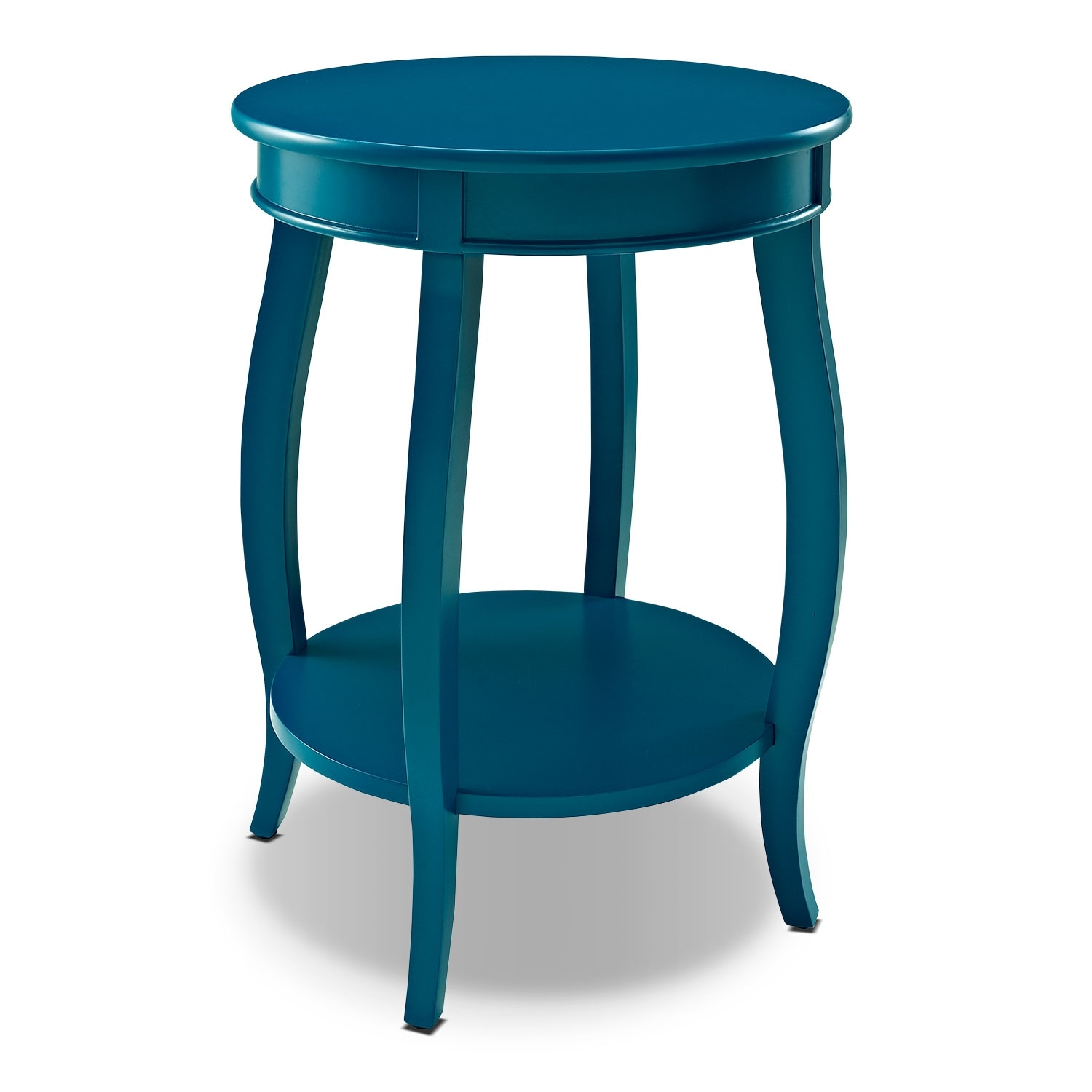 Accent and Occasional Furniture - Sydney Accent Table - Teal