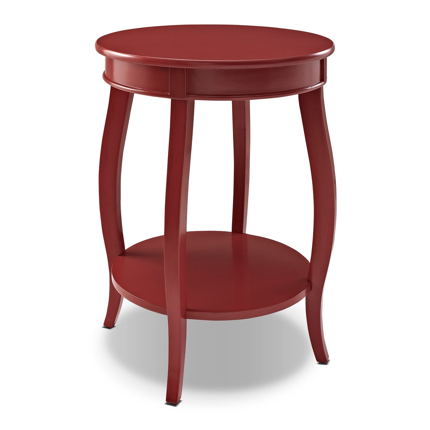 Accent and Occasional Furniture - Sydney Accent Table - Red