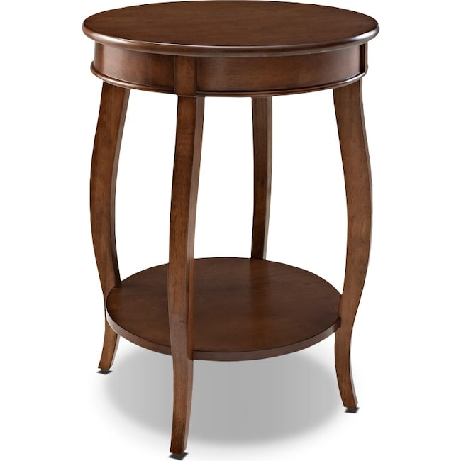Accent and Occasional Furniture - Sydney Accent Table - Hazelnut