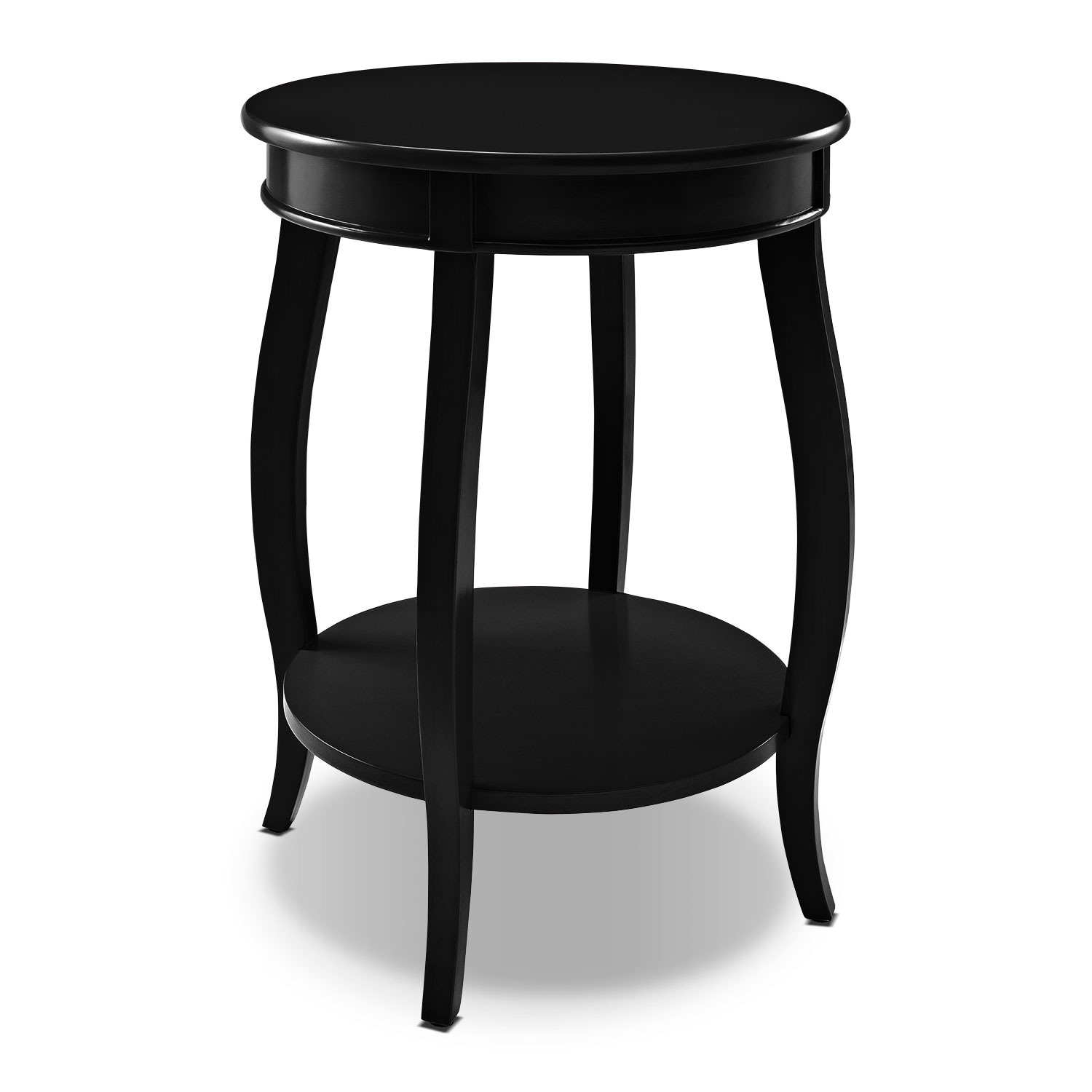 Sydney Accent Table   Black Part 96