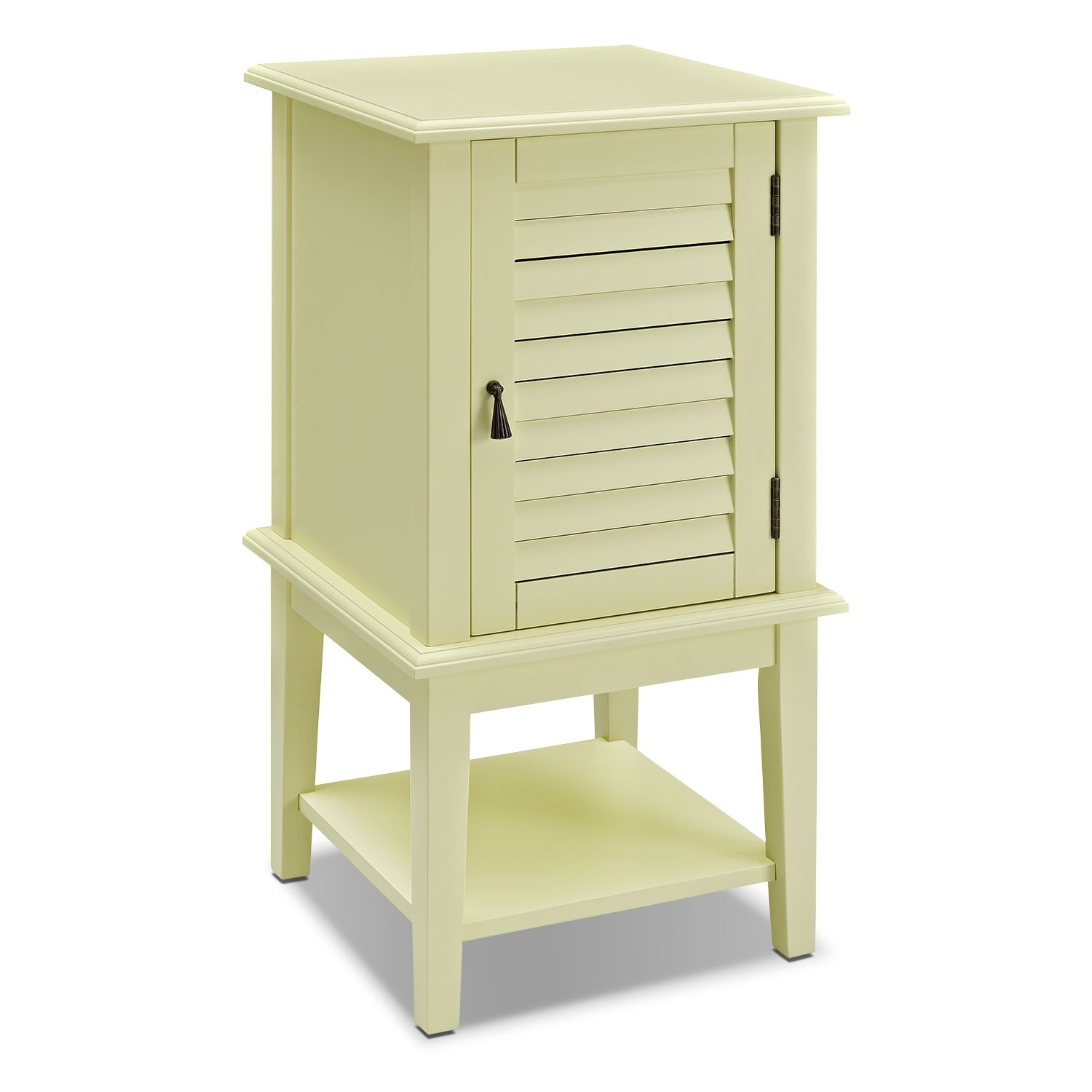 Accent and Occasional Furniture - Tulsa Side Table - Yellow
