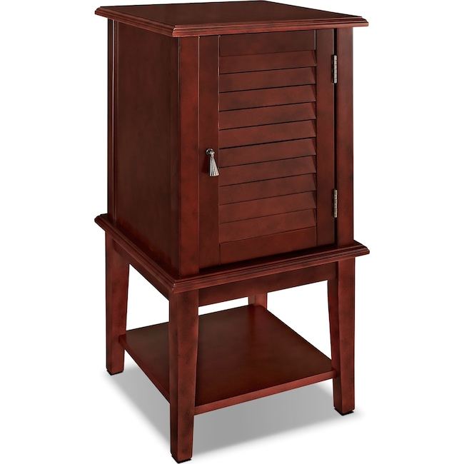 Accent and Occasional Furniture - Tulsa Side Table - Red