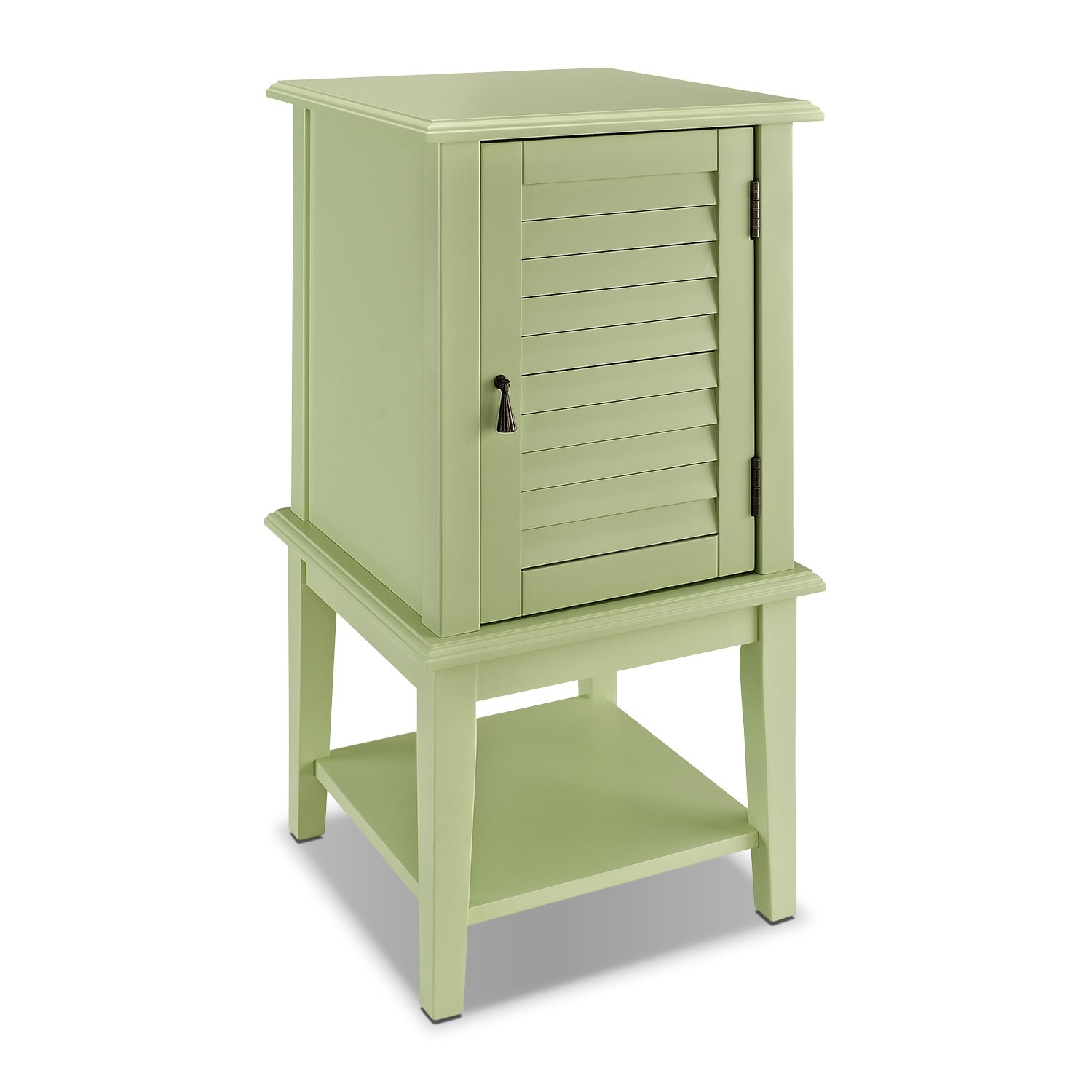 Accent and Occasional Furniture - Tulsa Side Table - Green