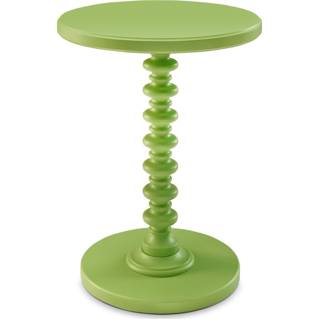 Accent and Occasional Furniture - Kobi Accent Table - Green