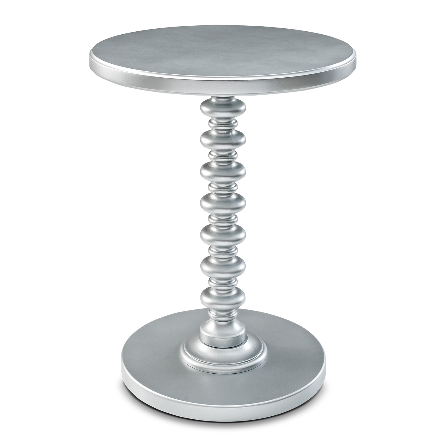 Kobi Accent Table - Silver