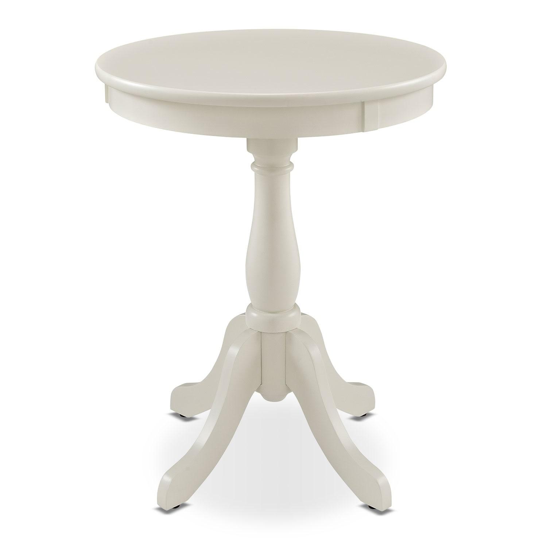 [Aron Side Table - White]